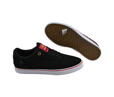 Emerica The Reynolds Low Vulc black/red/white Skater Sneaker/Schuhe schwarz