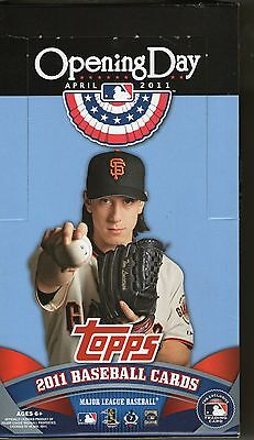 2011 Topps Baseball Opening Day Complete 220 Card Base Set