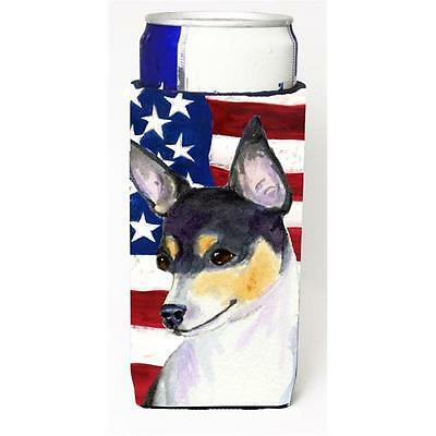Usa American Flag With Fox Terrier Michelob Ultra s For Slim Cans 12 oz. • AUD 47.47