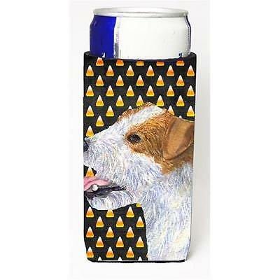 Jack Russell Terrier Candy Corn Halloween Portrait Michelob Ultra s For Slim ...