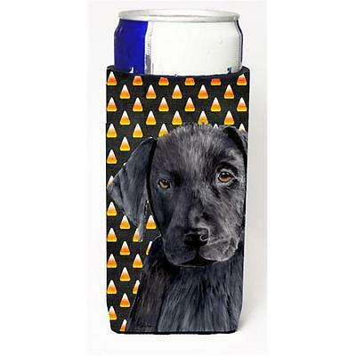 Labrador Candy Corn Halloween Portrait Michelob Ultra s For Slim Cans 12 oz.