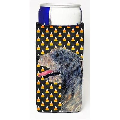 Irish Wolfhound Candy Corn Halloween Portrait Michelob Ultra s For Slim Cans ...