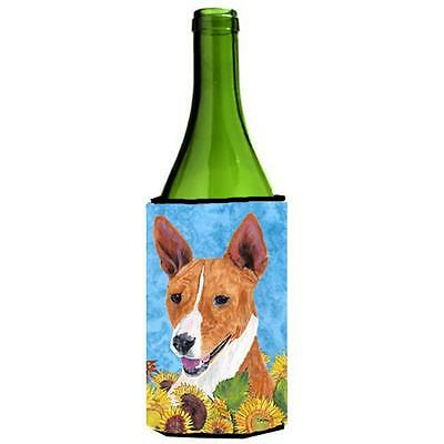 Carolines Treasures SC9054LITERK Basenji Wine bottle sleeve Hugger 24 oz.