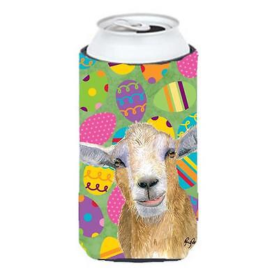 Eggtravaganza Goat Easter Tall Boy bottle sleeve Hugger 22 to 24 oz.