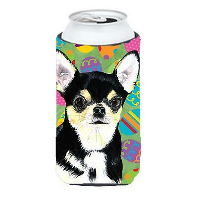 Chihuahua Easter Eggtravaganza Tall Boy bottle sleeve Hugger 22 To 24 oz.