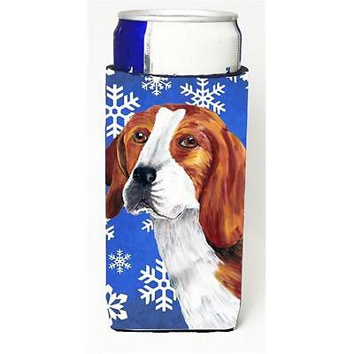 Beagle Winter Snowflakes Holiday Michelob Ultra bottle sleeves For Slim Cans ... • AUD 47.47