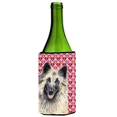 Belgian Tervuren Hearts Valentines Day Portrait Wine bottle sleeve Hugger