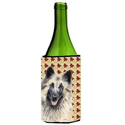 Belgian Tervuren Fall Leaves Portrait Wine bottle sleeve Hugger