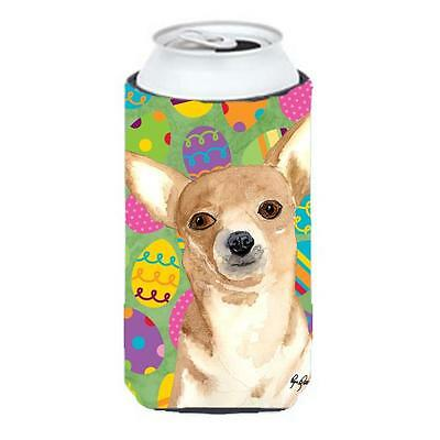 Eggravaganza Chihuahua Easter Tall Boy bottle sleeve Hugger 22 to 24 oz.