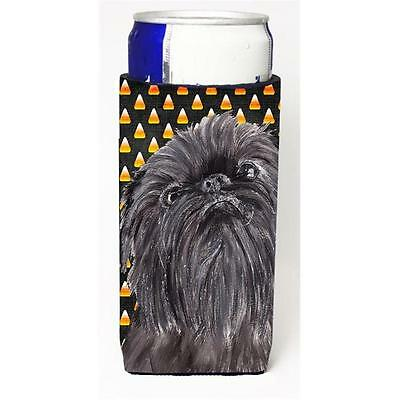 Brussels Griffon Halloween Candy Corn Michelob Ultra bottle sleeves For Slim ...
