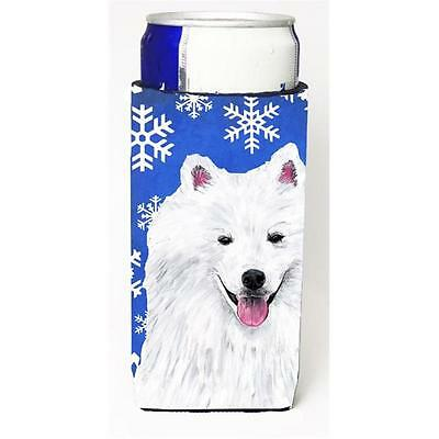 American Eskimo Winter Snowflakes Holiday Michelob Ultra bottle sleeves For S...