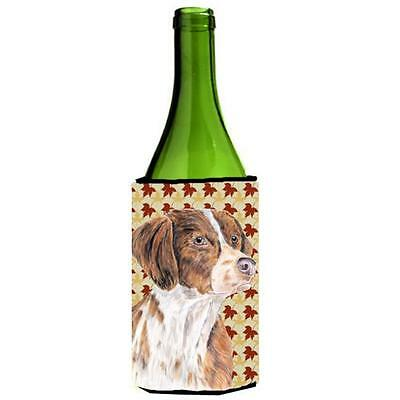 Brittany Fall Leaves Portrait Wine bottle sleeve Hugger 24 oz.
