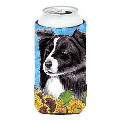 Carolines Treasures SC9071TBC Border Collie Tall Boy bottle sleeve Hugger