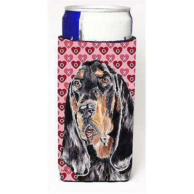 Coonhound Valentines Love Michelob Ultra bottle sleeves for slim cans 12 oz.