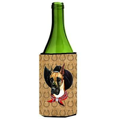 Great Dane Dog Country Lucky Horseshoe Wine bottle sleeve Hugger