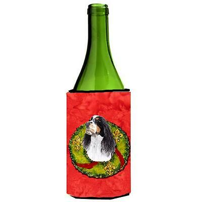 Carolines Treasures SC9092LITERK Springer Spaniel Wine bottle sleeve Hugger