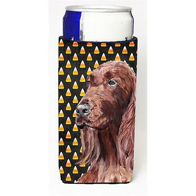 Irish Setter Halloween Candy Corn Michelob Ultra bottle sleeves For Slim Cans...