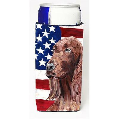 Irish Setter Usa American Flag Michelob Ultra s For Slim Cans 12 oz.