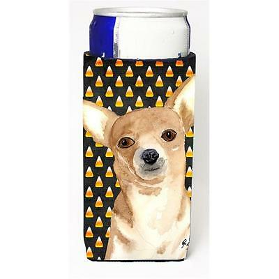 Candy Corn Chihuahua Halloween Michelob Ultra bottle sleeves for slim cans 12...