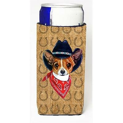 Chihuahua Dog Country Lucky Horseshoe Michelob Ultra bottle sleeves For Slim ...