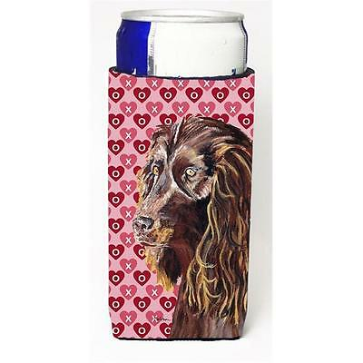 Boykin Spaniel Valentines Love Michelob Ultra bottle sleeves for slim cans 12...