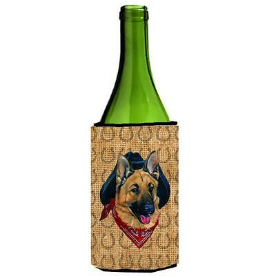 German Shepherd Dog Country Lucky Horseshoe Wine bottle sleeve Hugger