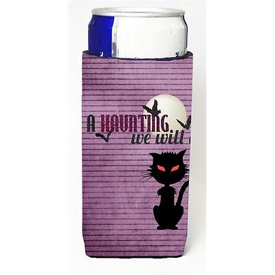 A Haunting We Will Go Halloween Michelob Ultra bottle sleeves For Slim Cans 1...
