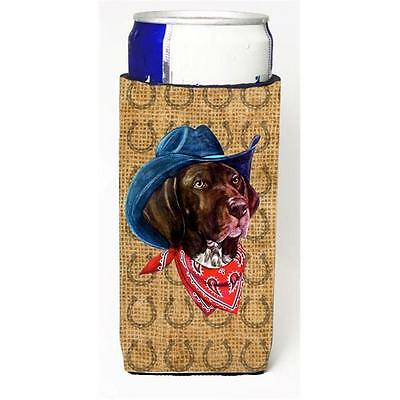 German Shorthaired Pointer Dog Country Lucky Horseshoe Michelob Ultra bottle ...