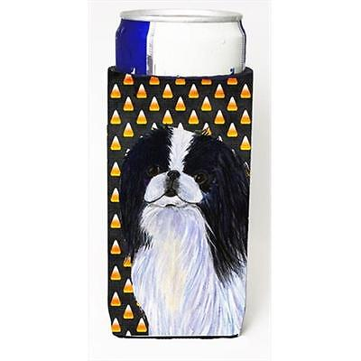 Japanese Chin Candy Corn Halloween Portrait Michelob Ultra bottle sleeves For...