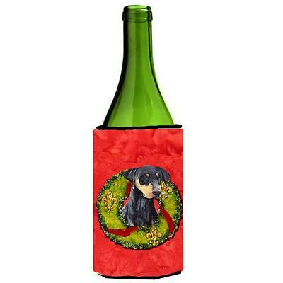 Carolines Treasures SC9106LITERK Doberman Wine bottle sleeve Hugger