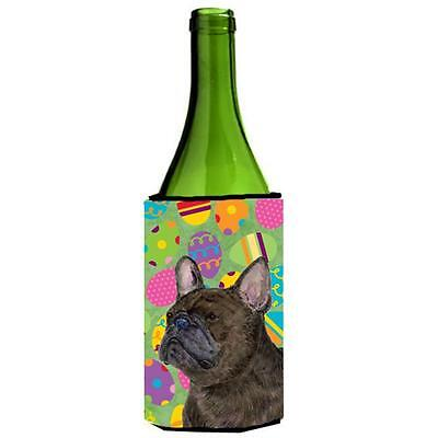 French Bulldog Easter Eggtravaganza Wine bottle sleeve Hugger 24 Oz.