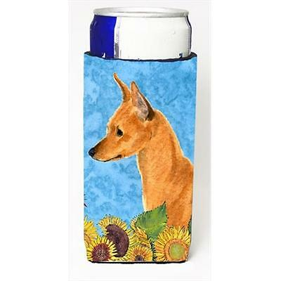 Min Pin In Summer Flowers Michelob Ultra bottle sleeves For Slim Cans 12 Oz.