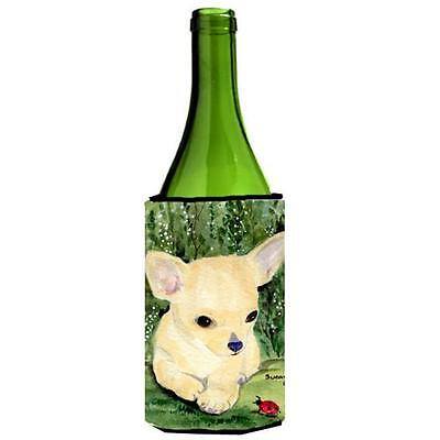 Carolines Treasures SS1010LITERK Chihuahua Wine bottle sleeve Hugger
