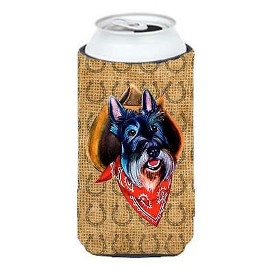 Scottish Terrier Dog Country Lucky Horseshoe Tall Boy bottle sleeve Hugger