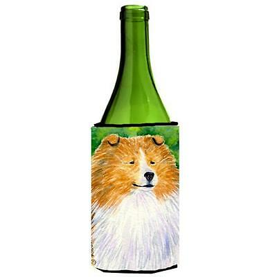 Carolines Treasures SS1003LITERK Sheltie Wine bottle sleeve Hugger