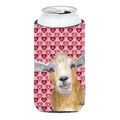 Hearts And Love Goat Tall Boy bottle sleeve Hugger 22 To 24 oz.