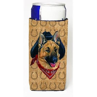 German Shepherd Dog Country Lucky Horseshoe Michelob Ultra bottle sleeves For...