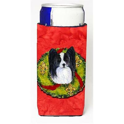 Papillon Cristmas Wreath Michelob Ultra bottle sleeves For Slim Cans
