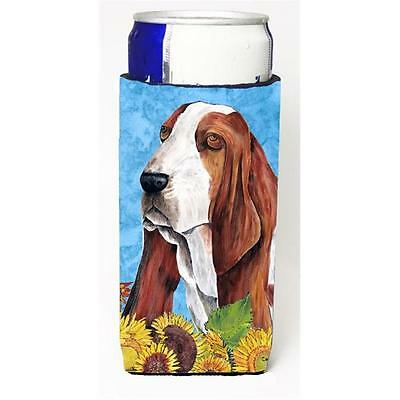 Basset Hound Michelob Ultra bottle sleeves For Slim Cans 12 oz.