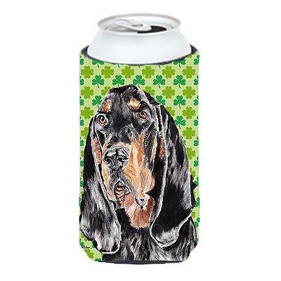 Coonhound St Patricks Irish Tall Boy bottle sleeve Hugger 22 to 24 oz.