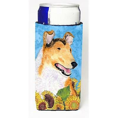 Collie Smooth In Summer Flowers Michelob Ultra bottle sleeves For Slim Cans 1...