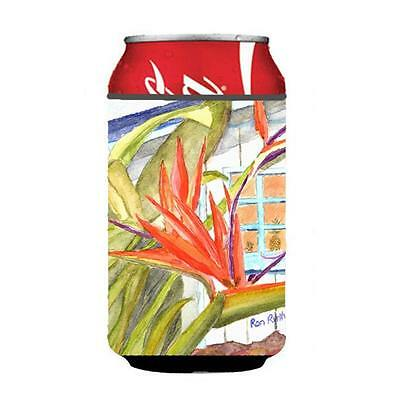 Carolines Treasures Flower Bird Of Paradise Can or bottle sleeve Hugger