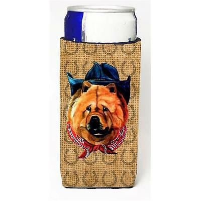 Chow Chow Dog Country Lucky Horseshoe Michelob Ultra bottle sleeves For Slim ...