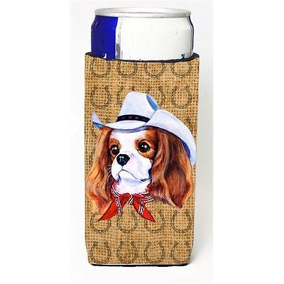 Cavalier Spaniel Dog Country Lucky Horseshoe Michelob Ultra bottle sleeves Fo...