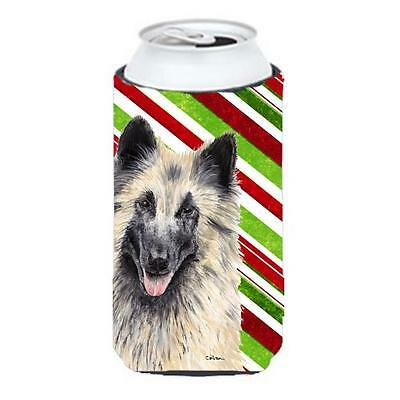 Belgian Tervuren Candy Cane Holiday Christmas Tall Boy bottle sleeve Hugger 2...