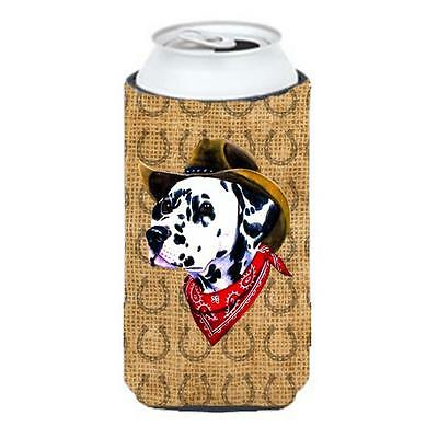 Dalmatian Dog Country Lucky Horseshoe Tall Boy bottle sleeve Hugger 22 To 24 oz.