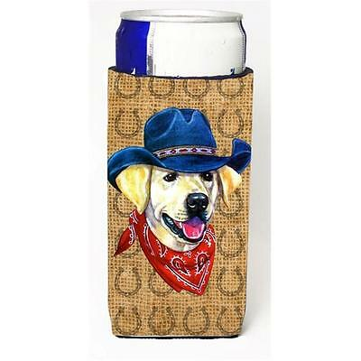 Labrador Yellow Dog Country Lucky Horseshoe Michelob Ultra bottle sleeves For...