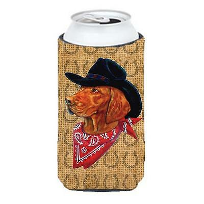 Vizsla Dog Country Lucky Horseshoe Tall Boy bottle sleeve Hugger 22 To 24 oz.