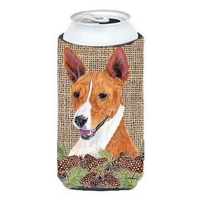 Carolines Treasures SC9036TBC Basenji Tall Boy bottle sleeve Hugger 22 To 24 oz.