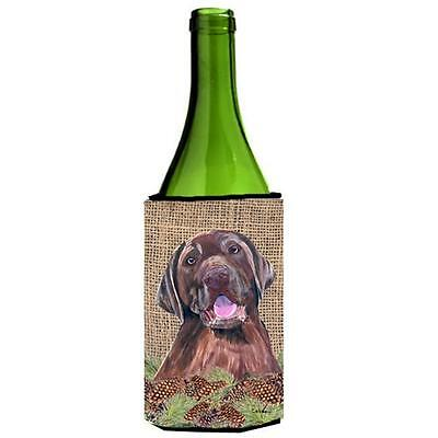 Carolines Treasures SC9039LITERK Labrador Wine bottle sleeve Hugger 24 oz.